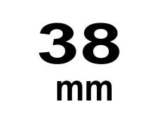 38 mm Breite