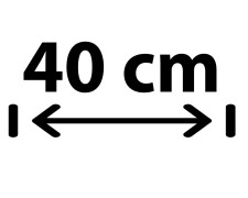 40 cm Breite