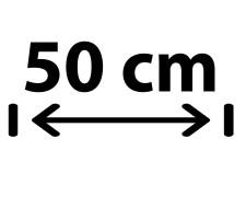 50 cm Breite
