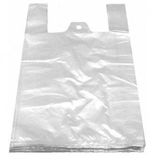 Hemdchentragetaschen HDPE weiß 400+200x600mm, extra stark, 50 Stk.