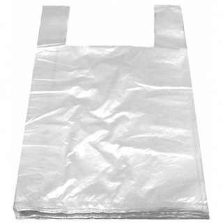 Hemdchentragetaschen LDPE weiß 250+120x470mm, extra stark, 1000 Stk.
