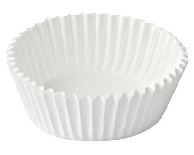 Gebäckkapseln weiß O 70 x 20 mm, 1000 Stk.