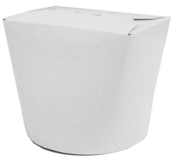 Papier Food-Box Take Away Box, beschichtet weiß 26oz, ...