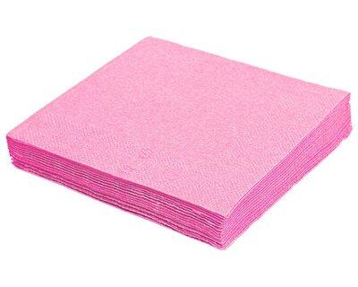 Servietten 40 x 40cm 1/4 -Falz, 3-lagig rosa, 250 Stk.