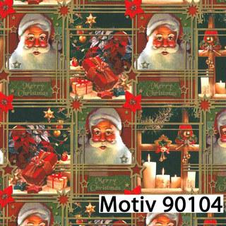 Weihnachtsgeschenkpapier 30 cm x 200 m | Motiv 90104 ...