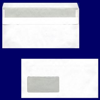 Briefumschlag DL-C5/6 220x110mm, 72gr, SK MF, weiß, ...