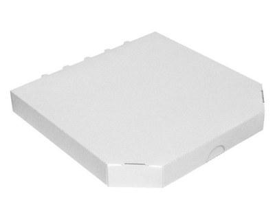 Pizzakarton -extra stark- weiß, 28 x 28 x 3 cm, 100 Stk.
