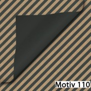 Geschenkpapier Exclusiv DUO zweiseitig beidseitig  30 cm x 200 m   Motiv 110