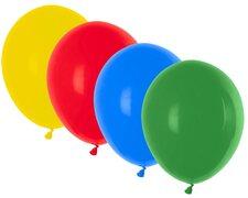 Luftballons bunt gemischt Ø 250 mm, Größe M, 100 Stk.