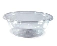 Salatschalen rund, klar, 600 ml, (PET), Nr. 74356, 50 Stk.