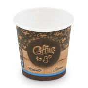 Kaffeebecher XS Coffee To Go für Espresso Ristretto 80 ml 110 ml,  50 Stk.