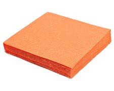 Servietten 33 x 33 cm 1/4 -Falz, 2-lagig orange,  50 Stk.