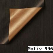 Geschenkpapier Special Giftwrap DUO  50 cm x 200 m   Motiv 996 metallic