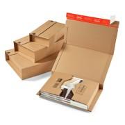 Universalverpackung CP020.08, 302x215mm Höhe 1-80mm, für A4, braun