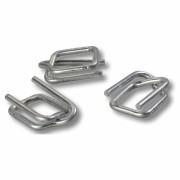 Metallschnallen für Textilumreifungsband, Breite 19 mm, Stärke 4,0 mm, 1000 Stk.