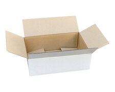 Verpackungs- und Versandkarton 295x195x90mm, 1-wellig, weiß