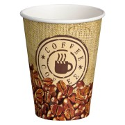 Kaffeebecher CoffeeToGo Pappbecher BAG OF COFFEE 12oz 300 ml, 50 Stk.
