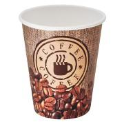 Kaffeebecher CofeToGo Pappbecher BAG OF COFFEE  8oz 200 ml, 50 Stk.