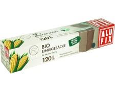 ALUFIX Einlegesäcke 120 L, 86x120cm biologisch abbaubar kompostierbar 5 Stk.