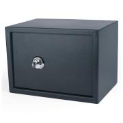 Tresor Safe 35x25x25cm mit Schlüssel-Schloss für  Tisch/Wandmontage