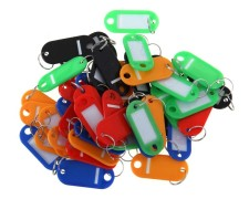 Schlüsselkasten für  70 Schlüssel inkl. Anhänger, perlgrau