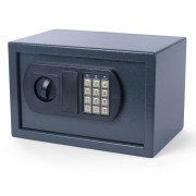 Tresor Safe 31x20x20cm mit elektronischem  Zahlenschloß für  Tisch/Wandmontage