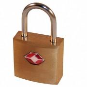 TSA 2 Schlüssel Schlüsselschloss, Reiseschloss, Gepäckschloss 20mm aus Messing