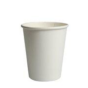 BIO Heißgetränkecher CoffeeToGo weiß 100ml 100% Reycling FSC®, 50 Stk.