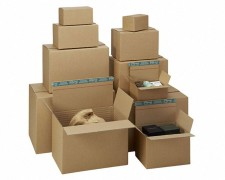System-Versand-Transportkarton Premium K10.04-2, DIN A4+,315x235x-228mm, braun