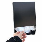 Handschuhspender aus Metall für Outdoor und Indoor, für Einweghandschuhe PC-860