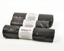 Müllsäcke Zugbandsäcke Kehrichtsäcke 110 Liter, Typ 100+, schwarz, 10 Stk.