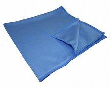 Mikrofaser Glaspolier, Windschutzscheiben und Bodentuch, 50x60cm, Blau, 20 Stk.