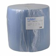 Putzpapierrolle 36cm breit, 100% Zellstoff, 3 lagig, verklebt, 1000 Blatt