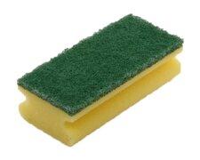 Mehrzweck Griffschwamm für grobe Verschmutzung, 150x75x45mm gelb - grün, 10 Stk.