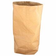 Papier Müllsäcke 120 L,  70 x 95 + 22 cm, 2-lagig - stark, braun, 25 Stk.