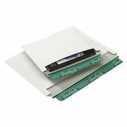 Vollpappe-Versandtasche V07.02 mit Querbefüllung, 246x172mm, C5, weiß