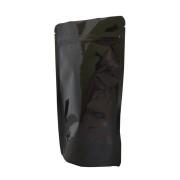 Standbodenbeutel PET schwarz glänzend 110x185x65mm, 250ml, 1000 Stk.