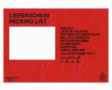 DOCUFIX Dokumententaschen *Lieferschein*, C5 240x165+20mm,  250 Stk.