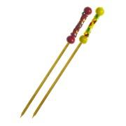 Fingerfood-Spieße aus Bambus KORDEL 120 mm, stabil und splitterfrei, 100 Stk.