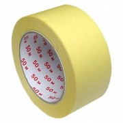 Kreppband Kreppklebeband Abdeckband CLASSIC, gelb, 50mm x 50m