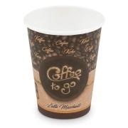Kaffeebecher L Coffee To Go Latte Macchiato, Melange 350ml 420ml,  50 Stk.