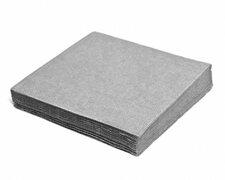 Servietten 33 x 33 cm 1/4 -Falz, 2-lagig grau, 250 Stk.