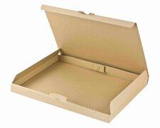 Maxibriefkarton DHL briefkastentauglich Höhe 3cm 340x250x30mm DIN A4/B4 braun