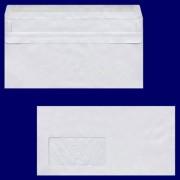 Briefumschlag DL-C5/6 220x110mm, 75gr, NK MF, grau - recycling, 100 Stk.