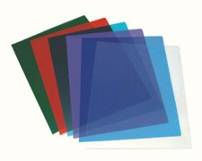 Deckblätter 0.20mm, A4, transparent glasklar, 100 Stk.