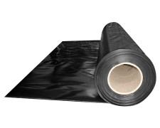 Abdeckfolie Baufolie, schwarz opak  4000mm, x 50m, 150my LDPE
