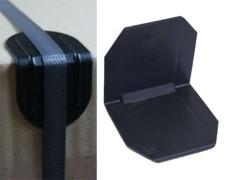 Kantenschutzecken ohne Dorn, 40x40mm, 100 Stk.