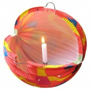 Lampion rund PARTY gelb Ø 24 cm