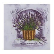 Motivservietten 3-lagig, 33 x 33 cm, Lavendel, 20 Stk.