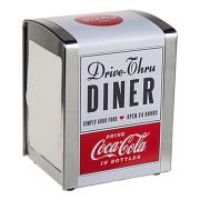 Metall-Serviettenspender, Retro, Design 2, Coca Cola, 14 x 10 cm